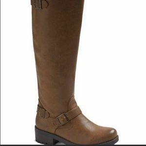 Women's Mossimo Kayce knee high cognac Boots